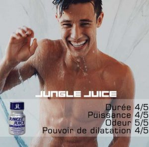 poppers jungle juice est une reference dans le monde gay