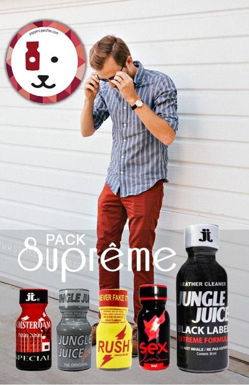 l'achat poppers suprême pack un beau cocktail