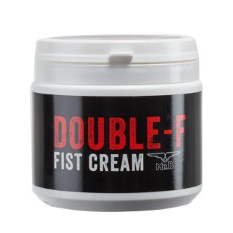 lubrifiant sodomie Mister B DOUBLE-F CREAM 500 ml est une crème lubrifiante à base d'huile. Texture riche, idéale pour fister, tes gros toys et les massages. Restant glissant et soyeux pendant longtemps, DOUBLE-F CREAM est parfait pour le FF modéré et plus extrême.