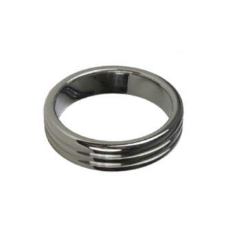 anneau pour penis en metal, cockring de haute qualité en acier