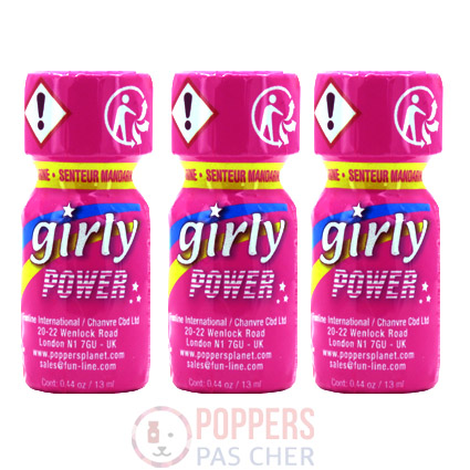 poppers pour femme girly power 13ml