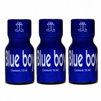 Le poppers Bleuboy utilise le nitrite de pentyle