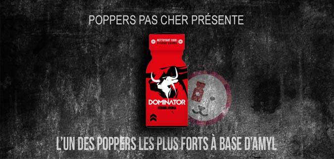 découvrir le poppers red dominator est a acheter sur poppers pas cher