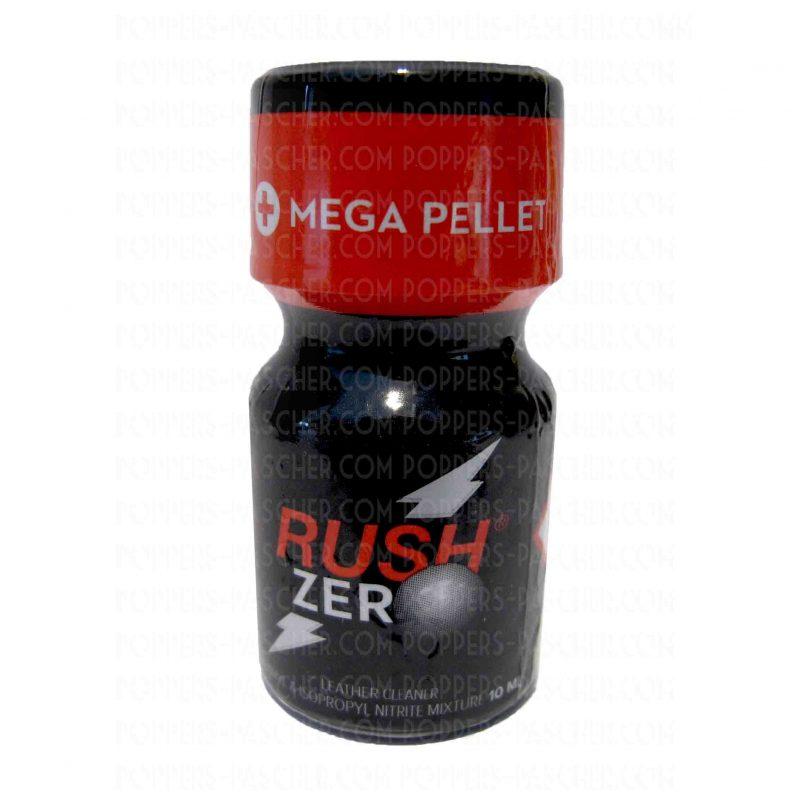poppers avec bille rush zéro 10 ml
