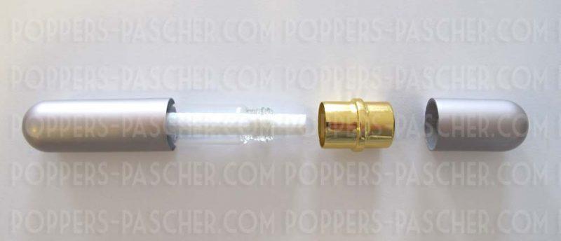 nouvelle utilisation du poppers avec cette fiole inhalateur