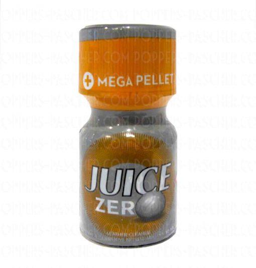 Le poppers Jungle Juice Zéro contient une bille grosse comme un boulet, ses effets son de ce fait 2 fois plus forts!