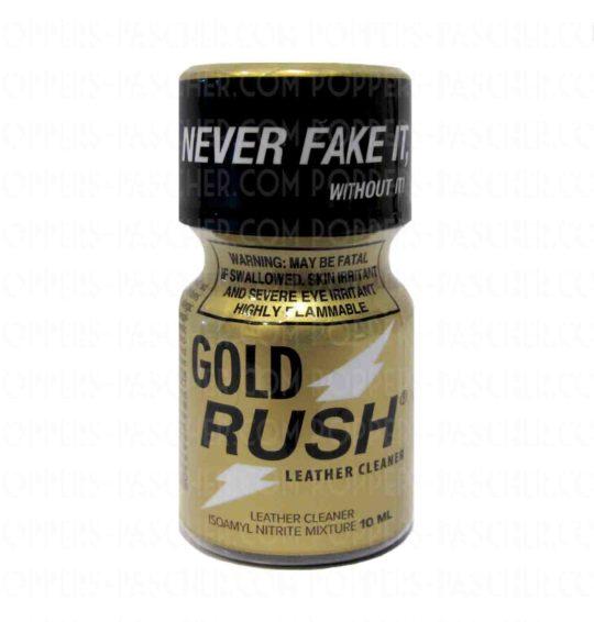 La boutique Poppers Pas Cher spécialisé dans la vente de poppers, propose le meilleur du Rush. cette fois dans son plus belle appareil, le Gold Rush.