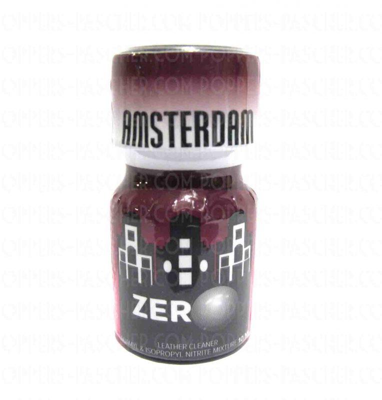 Poppers Amsterdam Zero stimulant et euphorisant puissant