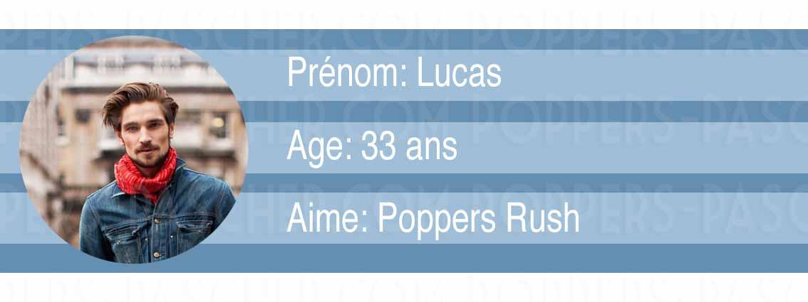 Lucas nous dit quel poppers choisir pour les pratiques sexuels