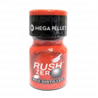 Acheter en ligne le poppers Rush RED Zéro, un super euphorisant puissant en vente très puissant