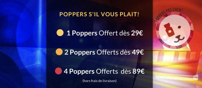 acheter poppers pas cher