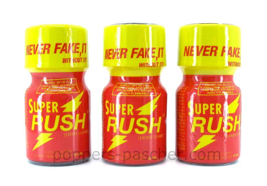 acheter sur poppers pas cher le super rush rouge
