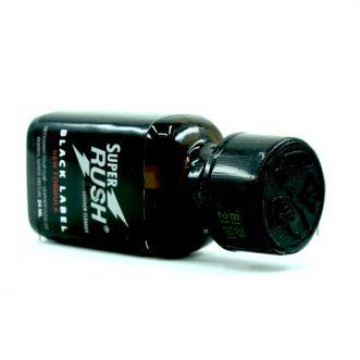 le poppers rush noir 24ml frand format