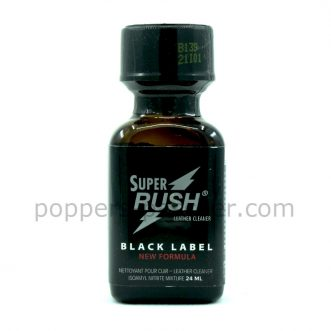 poppers rush black label 24ml
