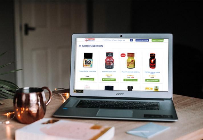 acheter poppers en ligne