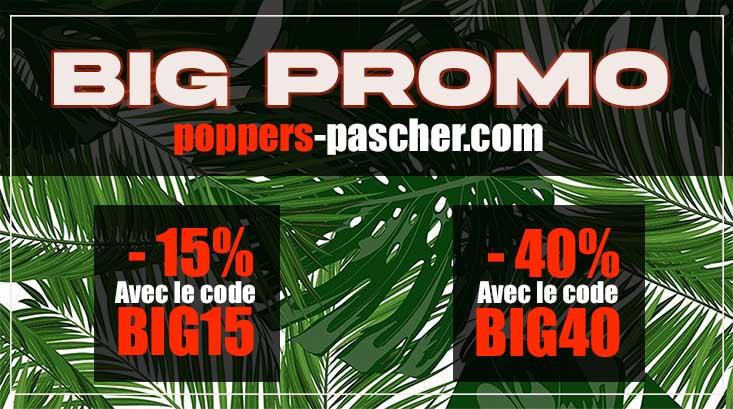 acheter poppers en promo