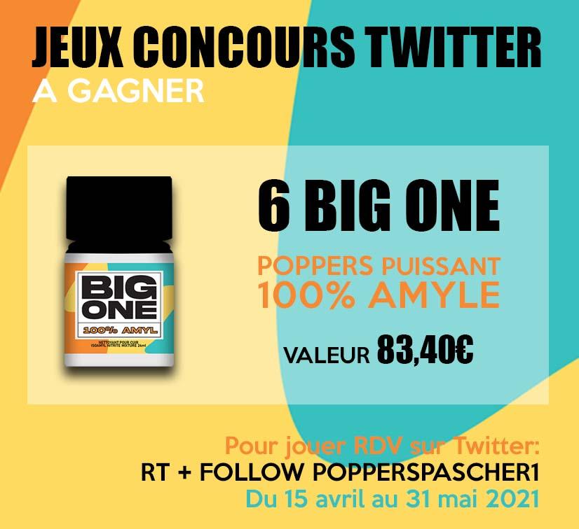 gagner un 6 poppers big one le plus puissant