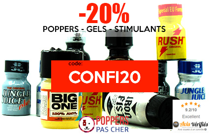 poppers code promo