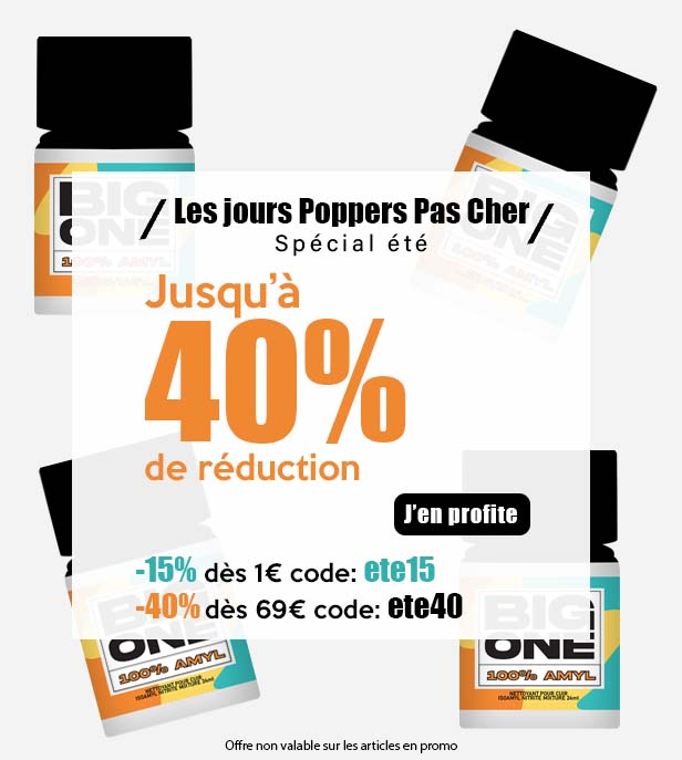 code promo pour acheter poppers