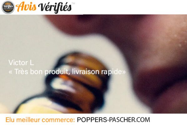 poppers puissant