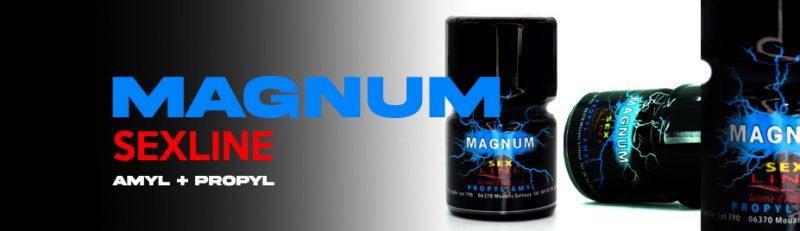 poppers magnum bleu