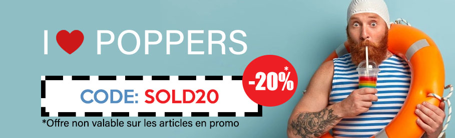 code promo poppers